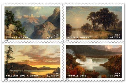 Hudson River School Forever Stamp released-Hudson Valley Magazine