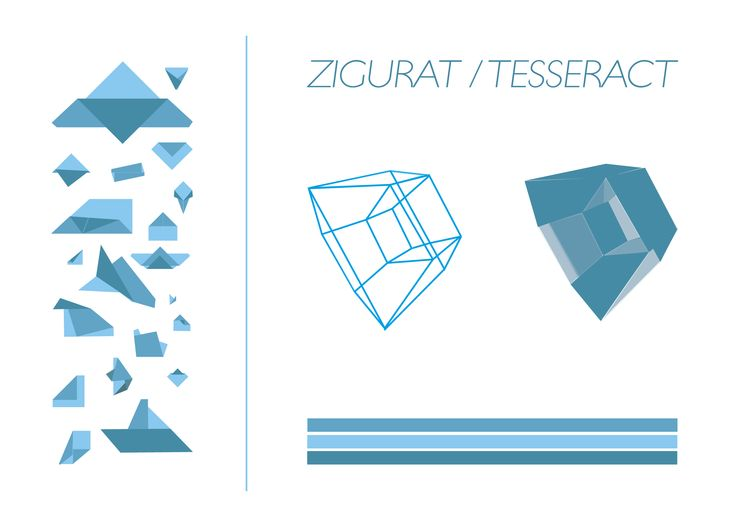 """OD-i_see Z.M1 : montage illustrator """"i-RÉELISÉ"""" en 2015 par Sarah Meynet-Cordonnier pour signifier le passage des éléments / langage au volume 3D."""