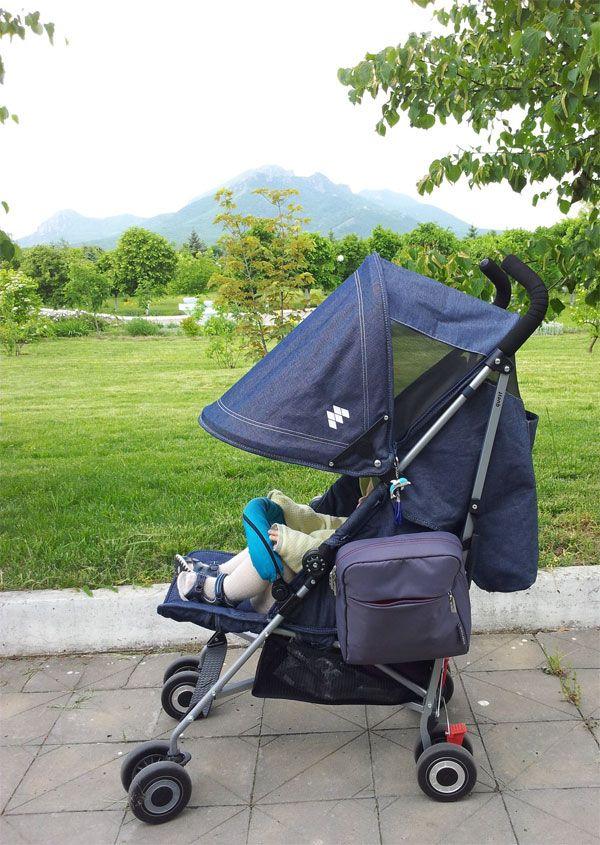 #коляска, #Maclaren, джинсовая коляска Макларен - ребенку удобно спать на прогулке, необычная сумка для коляски, капюшон можно расширять