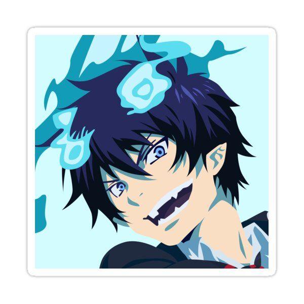 Rin Okumura Blue Exorcist Vector Art Sticker By Cae Grey In 2021 Blue Exorcist Rin Blue Exorcist Blue Exorcist Anime