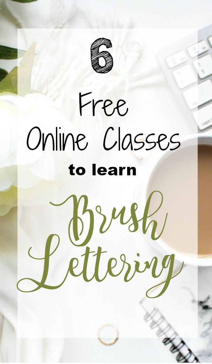 Calligraphy For Beginners Online 6 Free Online Classes To Learn Brush Lettering Planners