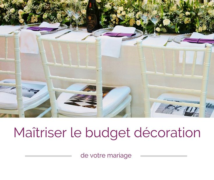 Table de mariage avec nappe blanche chaises for Chaise napoleon blanche