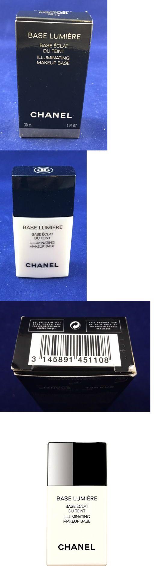 Foundation Primer: Chanel Base Lumiere Illuminating Makeup Base 30Ml 1Oz Nib 100% Authentic -> BUY IT NOW ONLY: $35.99 on eBay!