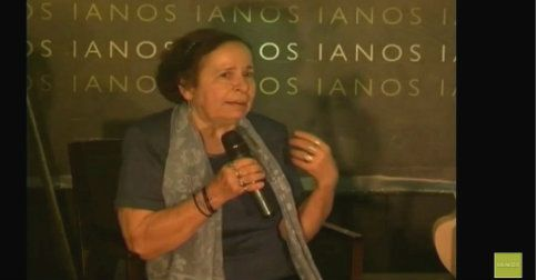 "VIDEO από τις ""Συναντήσεις Με Συγγραφείς"" στο Café IANOS.  Ο Νίκος Θρασυβούλου συνομιλεί με τη συγγραφέα Αλκυόνη Παπαδάκη για το έργο και τη ζωή της, ανιχνεύοντας τον άνθρωπο-δημιουργό. Μια συζήτηση, σε πρώτο πρόσωπο, για την τέχνη, την κοινωνία, τη ζωή, με τη συμμετοχή και των ακροατών.   #book #presentation #interview #video  http://www.kalendis.gr/enimerosi/216-video-alkyoni-ianos"