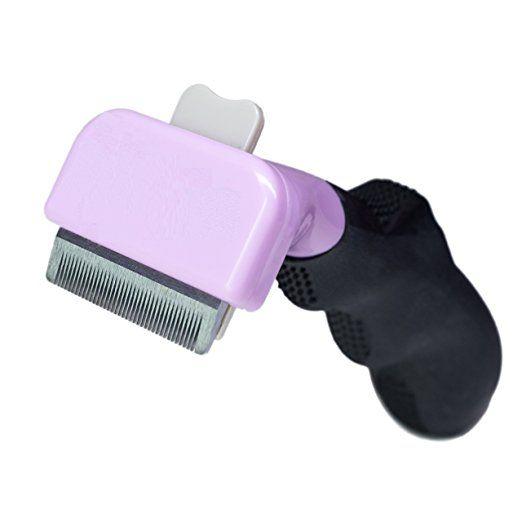 Cat Brush For Shedding, Best Short Hair Pet Grooming Tool, Reduces Cats Shedding Hair By More Than 90%, The Chirpy Pets Deshedding Tool