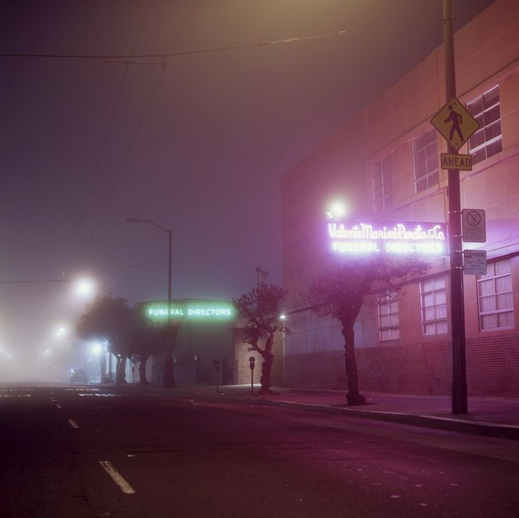 Best N I G H T T I M E Images On Pinterest City Lights - City streets glow in eerie night time photographs by andreas levers