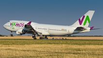 First visit of Wamos Air 744 to Prague title=