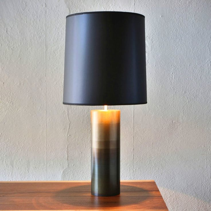Buy round table lamp by john beck steel by lightology limited edition designer lighting from dering halls collection of contemporary task lighting desk
