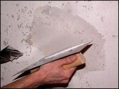 Fal glettelés, javítás