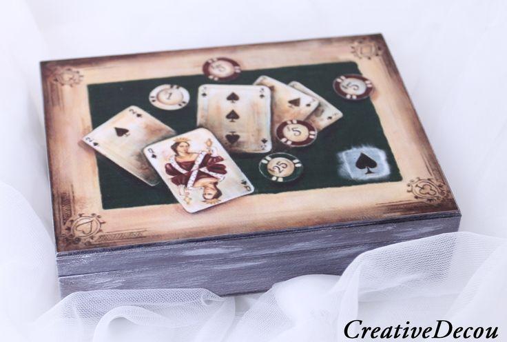 Pudełko na karty http://creativedecou.blogspot.com/