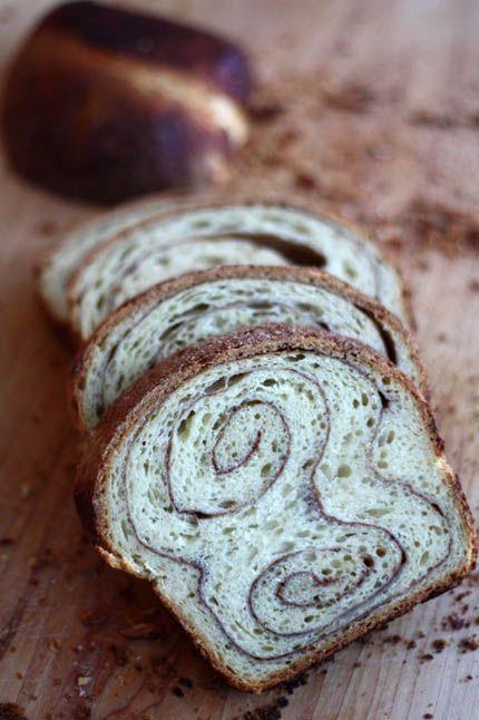 Making pretty swirls is fun, too! Cinnamon Swirl French Toast | Bread in 5