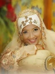 Image result for muslimah wedding dress