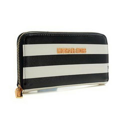cheap Michael Kors Jet Set Striped Zip Small Black white Wallets on sale online, save up to 90% off hunting for limited offer, no duty and free shipping.#handbags #design #totebag #fashionbag #shoppingbag #womenbag #womensfashion #luxurydesign #luxurybag #michaelkors #handbagsale #michaelkorshandbags #totebag #shoppingbag