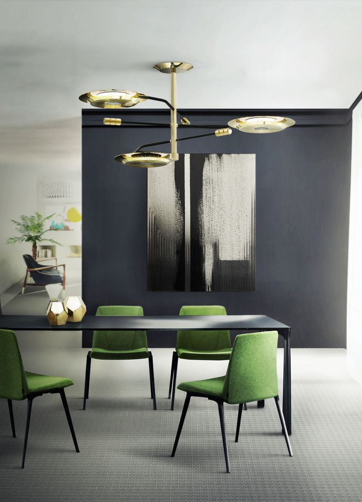 Delightful Suspension Collection | Hendrix Lamps | http://www.delightfull.eu/en/heritage/suspension/hendrix-ceiling-lamp.php