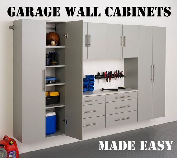 What are the Advantages and Disadvantages to Off the Floor Garage Wall Cabinets? I Also Have Creative Ideas on How to Use Them Plus How to Save Money... http://www.garagecabinetkits.com/garage-wall-cabinets/