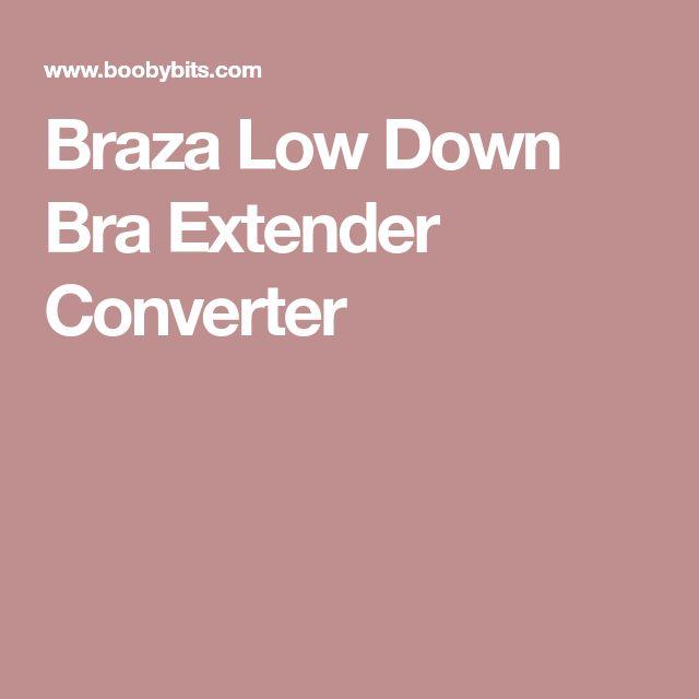Braza Low Down Bra Extender Converter