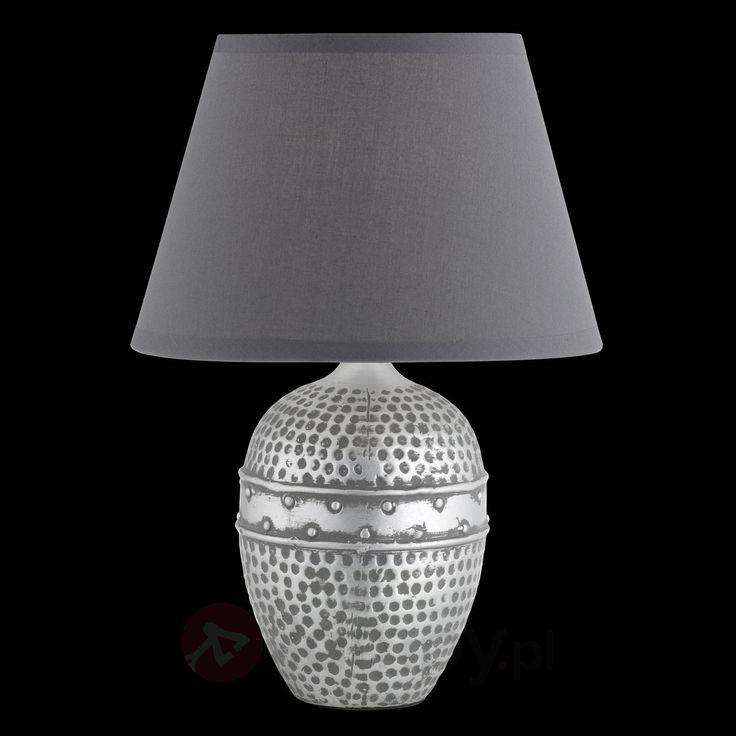 Lampa stołowa Essex z powłoką młotkową 4581294