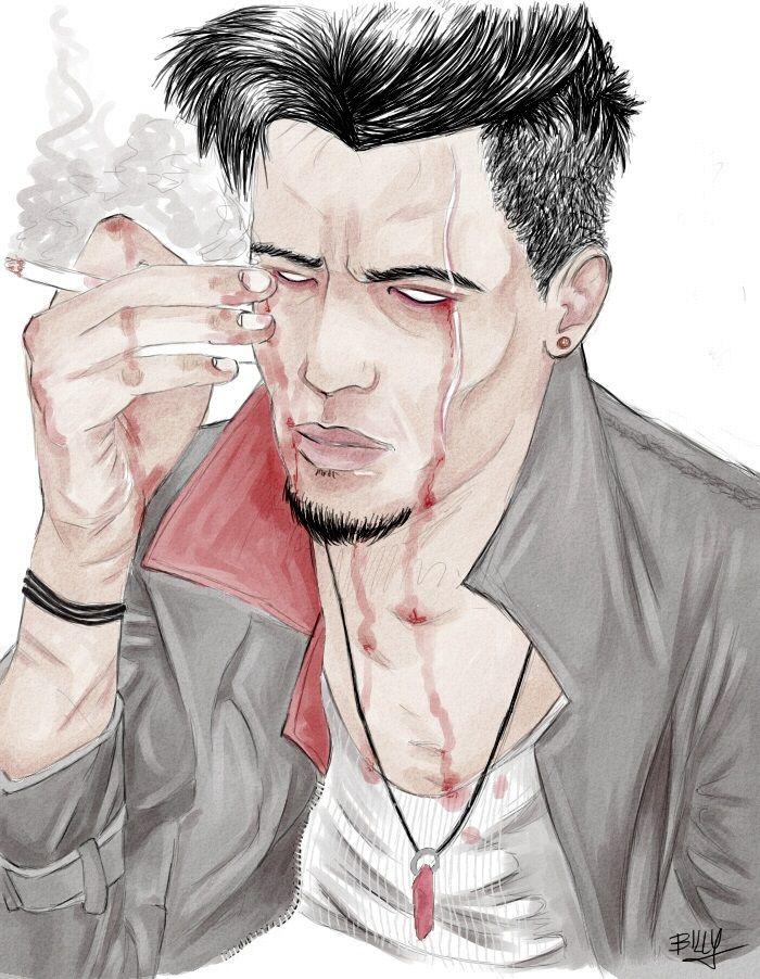 Kind of Dante from DMC, done in SAI