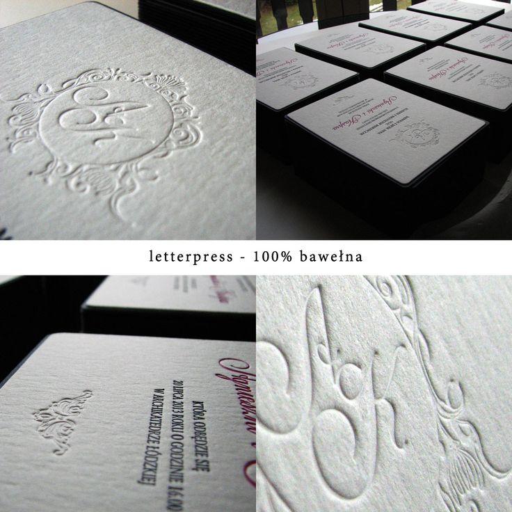 100% bawełna i letterpress