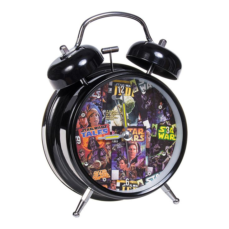 Star Wars Rebel Alarm Clock (Multicoloured)