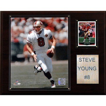 C Collectables NFL 12x15 Steve Young San Francisco 49ers Player Plaque