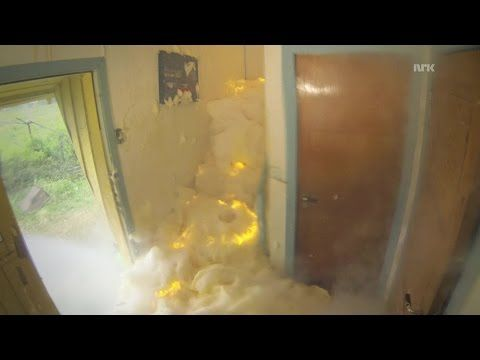 is: Trying To Destroy A House With Expanding, Exploding Foam | Geekologie