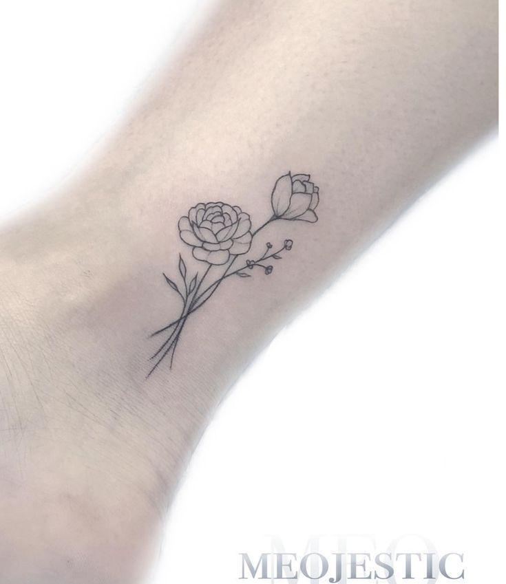 Pin By Kaval Merve On Little Tattoos In 2020 Small Tattoos Train Tattoo Peonies Tattoo