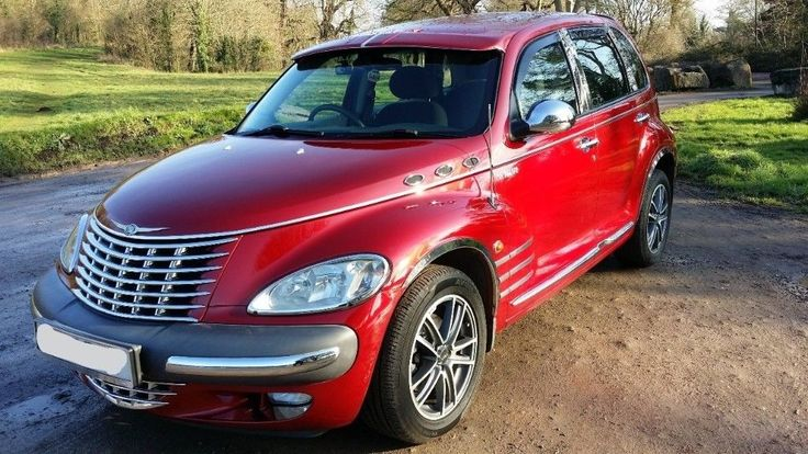 RED Chrysler PT Cruiser.