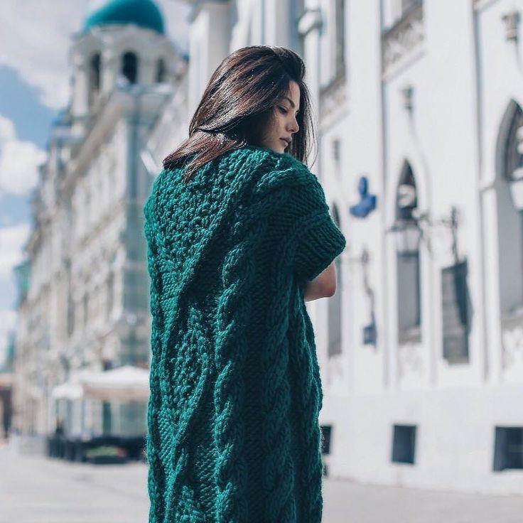 "511 Likes, 12 Comments - Wool & Mania (@woolandmania) on Instagram: ""Вдохновляем на вязание 😍 Ищи набор для создания такого кардигана своими руками на 👉woolandmania.ru…"""