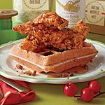 Bacon Waffles Recipe   MyRecipes.com