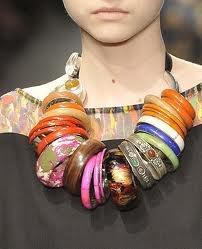 It's the necklet. A bracelace?