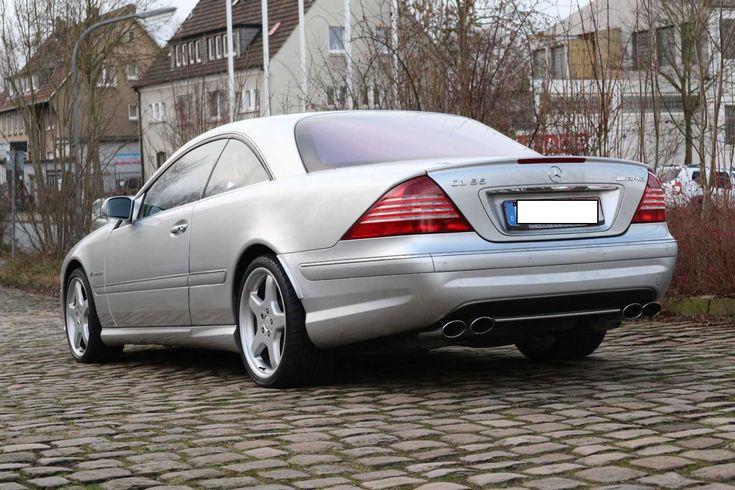 Mercedes Benz CL 55 AMG TOP!! V8 Kompressor 500PS Original w215 No 63 65