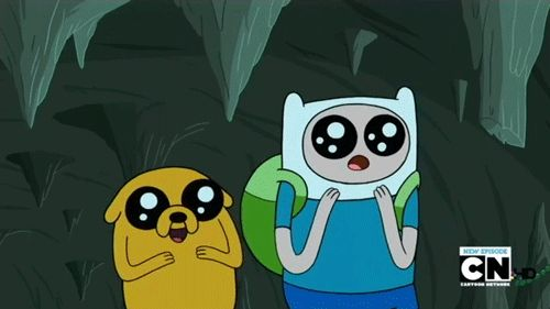 Finn and Jake uber excitement