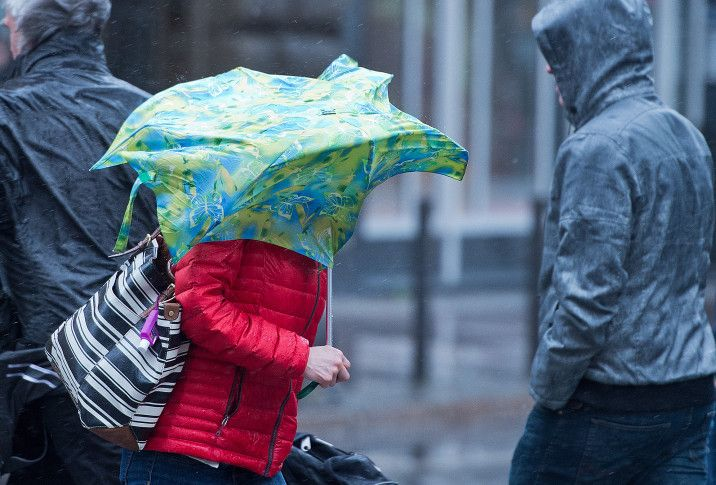 Heavy winds sweep Europe, knock people to their knees - WTOP