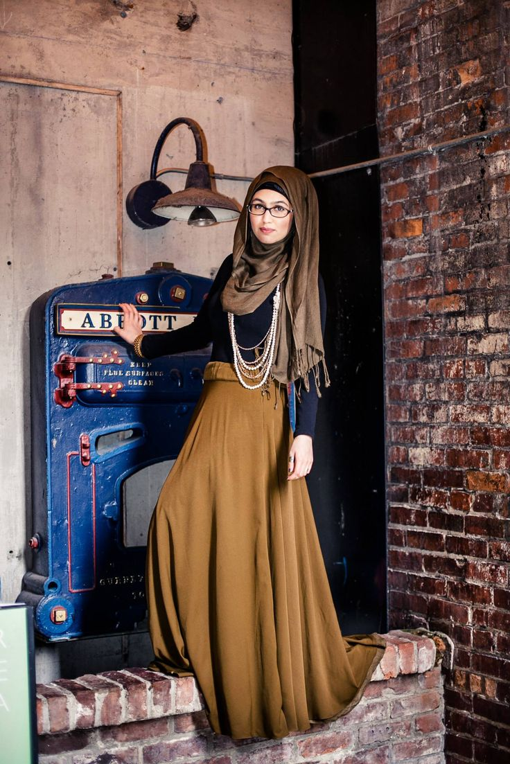 MODEST HIJAB STREET FASHION CONTEST 2014
