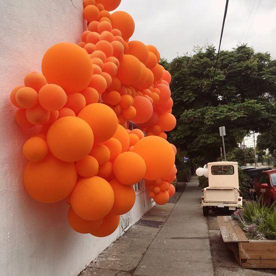 geronimo balloon installation in echo park