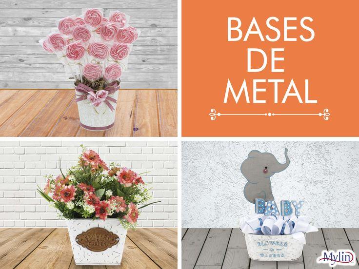 ¿Ya viste las bases de metal? Conoce los más de 36 modelos de bases que tenemos para ti en fantasiasmiguel.com !!