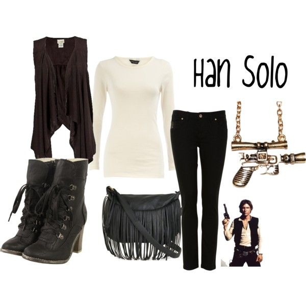 """Han Solo"" Star Wars Inspired Outfit"