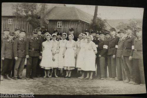 Ansichtskarte,Rotes Kreuz,Sanitäter Uniform,Krankenschwester,Lazarett