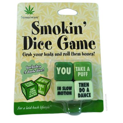 Stonerware - Smokin' Dice Game on Sale for $5.99 at HippieShop.com