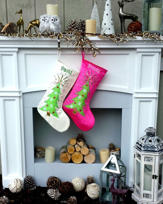 50 best Christmas Stockings images on Pinterest | Christmas ...