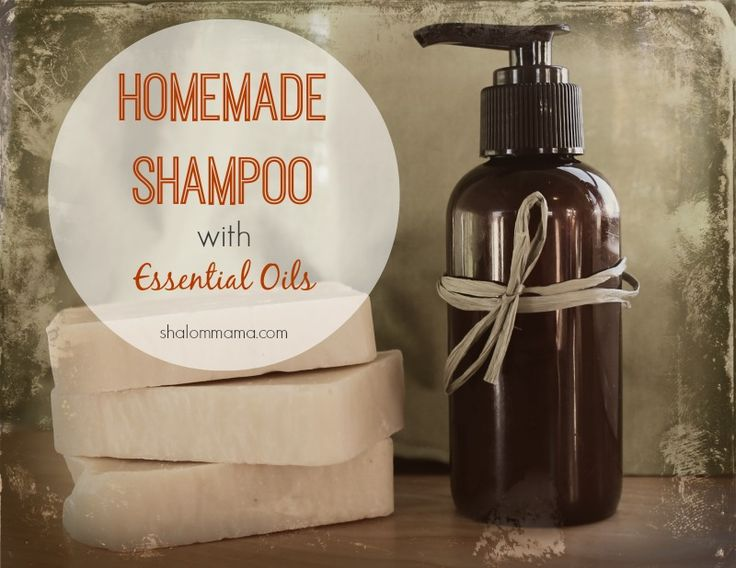 Recipe for DIY homemade shampoo with essential oils, if going shampoo-free doesn't work for you.