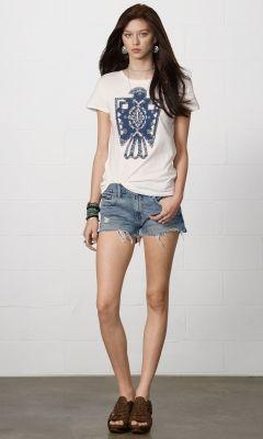 Noll Boyfriend Cutoff Short - Denim & Supply Shorts & Skorts - Ralph Lauren UK