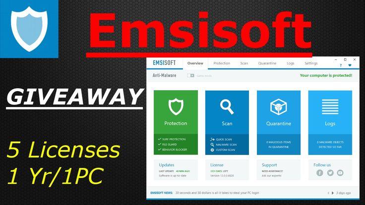 Emsisoft Internet Security Giveaway