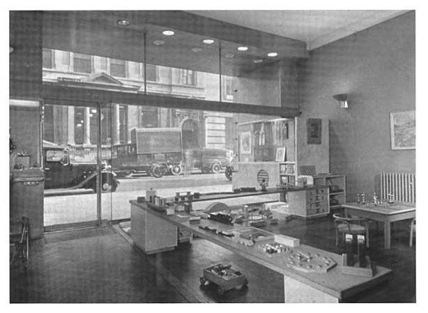 Interior Photograph of the Wimpole Street shop from Museum of Childhood website