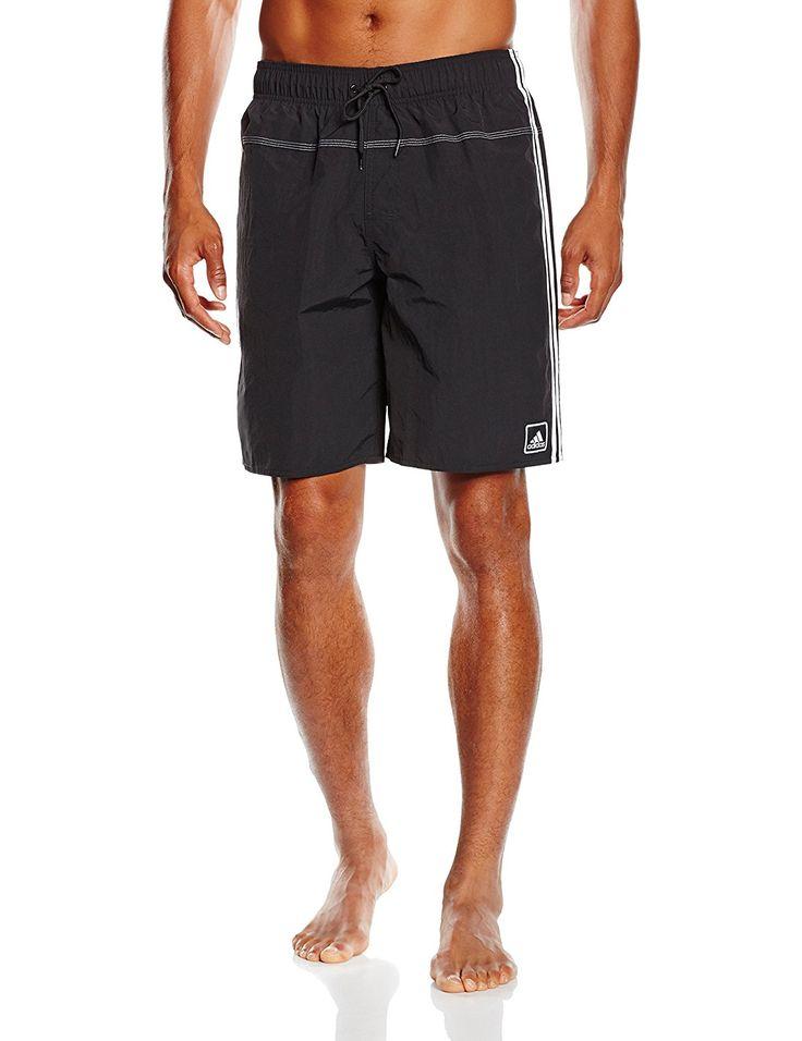 genau richtig! adidas Herren Shorts Badehose 3-Stripes Authentic Shorts: adidas: Amazon.de: Sport & Freizeit