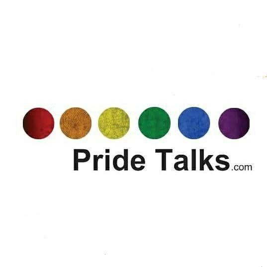 Show your pride and help fund pridetalks with one sweet sticker https