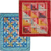 Baby Baby Quilt Baby Baby - by Judy Hansen This quilt is a cot sized quilt. Uses 1 Jelly Roll One Jelly Roll will supply you with enough fabric for two quilts. Instructions and advice for Boy's Patches Quilt and Girls Log Cabin Quilt are in the pattern.