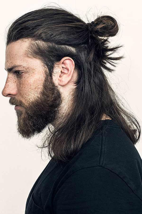 Men S Updos For Long Hair A Simple Guide To Popular And Modern Styles Men S Long Hairstyles Long Hair Styles Men Hair Styles