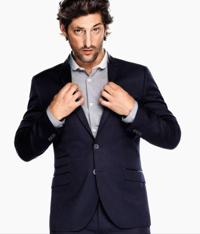 Вещь недели: HM темно-синий костюм